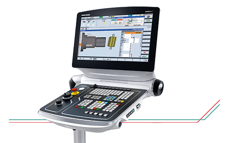 "21,5"" ERGOline Operation Panel with CELOS, Sinumerik 840D sl, Multi-Touch Display and Tactile Control Keys"